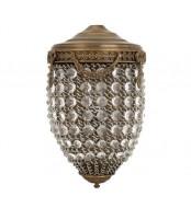 Stenska svetilka kristal