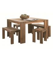 Jedilna miza Fissure kvadratna